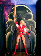 """For the honor of Greyskull!"" (9mm Eds Photos) Tags: birthday chicago 2017 winter aquarius toys toylove mattel shera princessofpower mastersoftheuniverse actionfigure castlegreyskull 1980s 80s filmation"