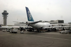 Air New Zealand 747 ZK-NBS