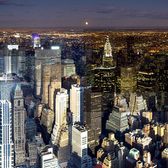 VfESB_UPTOWN_v20062202det (Willem van den Hoed) Tags: nyc moon collage cityscape manhattan mosaic 5thavenue laguardia chryslerbuilding citicorp timescape vfesb collectivepanorama