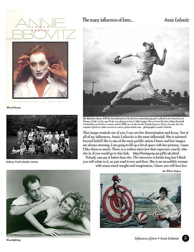 Tutorial | Influences of Form: Annie Leibovitz (1 of 4)