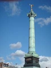 Columna de la Bastilla (Felipe Bachomo) Tags: paris france de la frankreich place frana column 75 francia bastille pars  colonne parigi bastilla columna    paname pariz   parizo pantruche