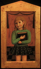 Epiphany ({studiobeerhorst}-bbmarie) Tags: painting books chidhood silvergoldart