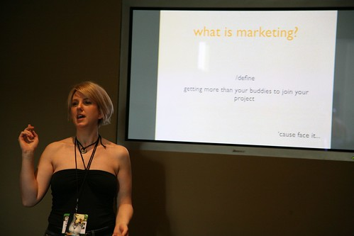 Delivering a pitch: what is marketing?
