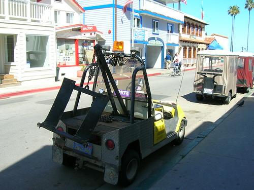 Golf Cart Tow Truck! Catalina Island