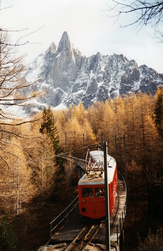 Chamonix Train por evie22.