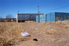 kachina storage (drl.) Tags: blue arizona desert storage litter navajo containers kachina windowrock dineh navajonation din