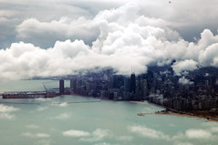 The Sky Falls to Earth (caribb) Tags: usa chicago america wow wonderful flying illinois amazing unitedstates sweet awesome great dramatic landing traveling theunitedstatesofamerica