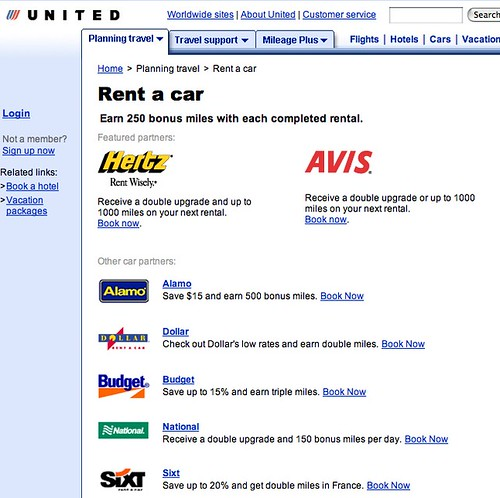Las mejores compañías de alquiler de coches en USA