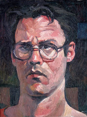 Self portrait (dgray_xplane) Tags: art me schilder self painting artwork artist artgallery photos kunst paintings stlouis mo missouri artists painter saintlouis oilpaintings painters oilpainting artworks kunstenaar xplane davegray dgray dgrayxplane hetschilderen oliehetschilderen