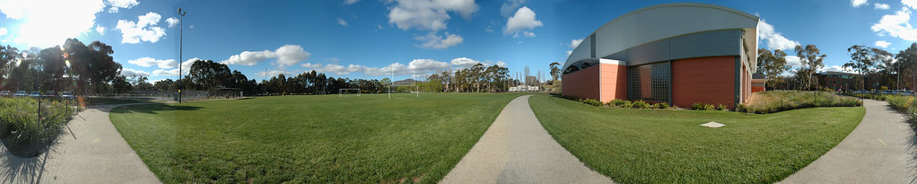 ANU Willows Oval and all new Sport and Recreation Centre