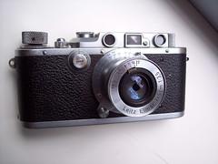 Leica IIIa and Elmar 50mm/3.5 (jiulong) Tags: leica cameras elmar iiia 50mm35