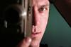 """action"" (.brian) Tags: camera portrait jason man male face"