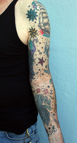 full arm tattoos. Left Arm Full Sleeve (Inner)