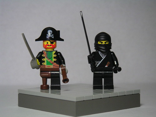 Pirate vs. Ninja: Fight! by Dunechaser.