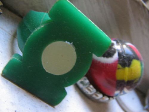 Power Ring Super Ball Bottle Cap