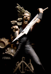 Metallica / James Hetfield (Fernando Vega) Tags: longexposure music jason black macro scale rock metal studio toys james lars metallica tribute ulrich monterrey kirk hetfield hammett newsted fernandovega