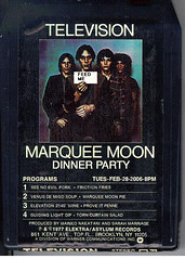 Marquee Moon Dinner Party (semarr) Tags: nyc food television brooklyn dinner dinnerparty tomverlaine bedstuy richardlloyd billyficca fredsmith marqueemoon