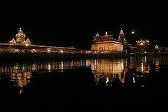 Golden Temple on Baisakhi Celebrations (Captain Suresh Sharma) Tags: india lake building heritage water architecture dark religious golden asia tank culture holy nectar sikh punjab amritsar goldentemple pious sarovar panjab holytank nectra sikhreligion captsureshsharma sikhculture sikhheritage photosofgldentemple imagesofgldentemple holiestplaceofsikhsoftheworld symbolofsikhreligion