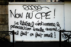 CPE : Pntration anale... (decembre) Tags: brunodecembre cpe politique france anal slogan french protest sarkosy capitalism europepeople unitaire captalisme sarko pension reform banksters europe