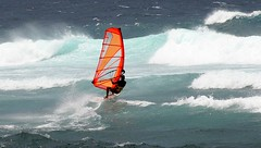 catch a little air (lucky e) Tags: ocean coast waves wind maui x windsurf kaanapali hookipa honokawai mauikai