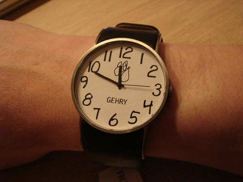 Frank Gehry's Fossil Watch