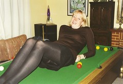 The games room (Bigtease) Tags: knickers tights upskirt miniskirt milf pantyhose bigtease