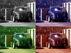 john, paul, george and ringo (beardy m) Tags: colour cars beatle