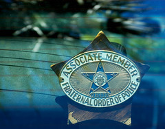 Fraternal Order (Worker101) Tags: order police badge fraternal
