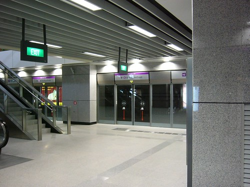 Punggol MRT station in Singapore, taken from my Flickr profile