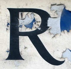 The Letter R (steamshift) Tags: uk sign brighton r lettering oneletter lettera alfabeto