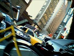 sohoprinceSep20265-573 (soho/prince) Tags: city nyc toycamera streetshots bikes taxis blink blurs sipix distortions sohoprince