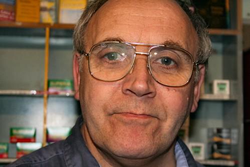 Richard Nunn of Exposure Cameras, Colegate, Norwich.