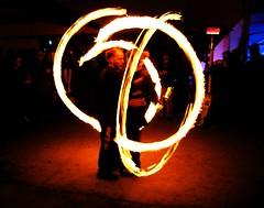 Fire Dancers (holotone) Tags: montana missoula firedancers otherside fireandice