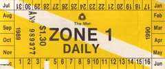old tickets0005 (lonely radio) Tags: bus train tram australia melbourne ticket victoria daily scanned 1989 1990 themet zone1