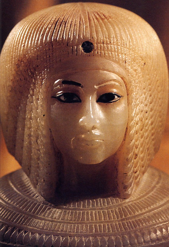 Sculpture, Egypt Second wife of the pharaoh Akhenaten