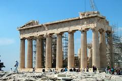 Athens - Acropolis: Parthenon (east side)