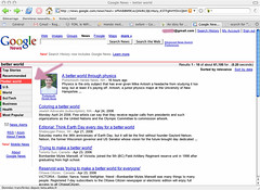 Google News - Better World