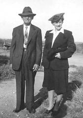 Frank & Maude Hackney Spring 1943