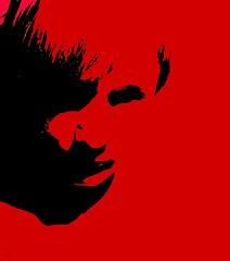 che pas (ribena_wrath) Tags: shadow red stencil scarface justify