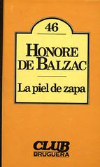 Honoré de Balzac, La Piel de Zapa