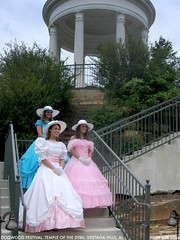 belles 3 (Dystopos) Tags: vestaviahills vestaviabelles vestavia belles temple sybil sybilline hoopskirts hoop skirts pastel colors pink blue white dresses dress antebellum dixie girls girl teenage debutants debs dogwoodfestival dogwood festival shadesmountain birmingham alabama bhamref south southern hospitality grace gracious genteel anachronism