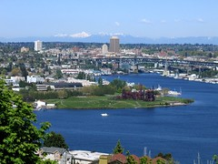 Queen Anne Hill View (Mike Dole) Tags: seattle lakeunion gasworkspark queenannehill