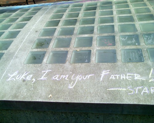luke I am your father graffiti