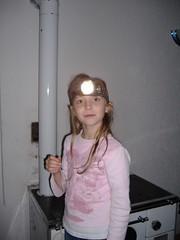 Lydia with headlamp (kosova cajun) Tags: kosova headlamp lydia