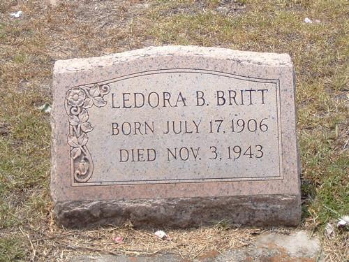 Ledora Barfield Britt