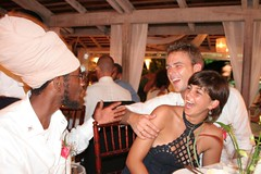 old time story (antiguan) Tags: wedding boy party boyfriend girl dinner groom bride girlfriend couple eli wine wed antigua caribbean celebrate rasta olddays caribbeanwedding elifuller harmonyhall
