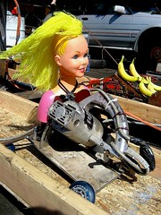 Barbie v. Bananas (Telstar Logistics) Tags: sanfrancisco california 2006 dragracing powertool ptdr ptdr2006