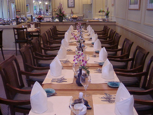 Restaurante Riverside Café del Hotel Renaissance Riverside
