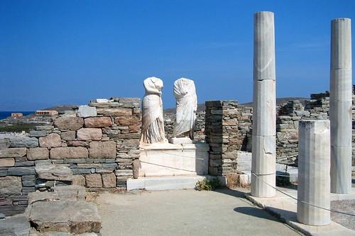 Greece - Delos: Maison du Cleopatre
