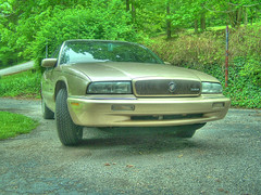 Buck the Buick (AtomicImages) Tags: buick hdr photomatrix 5xp